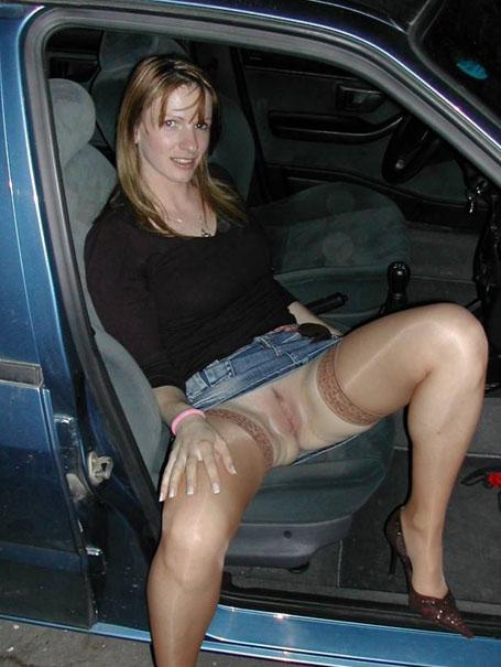 Ohne Slip Im Auto